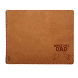 Mouse Pad with Decorative Stitch: Awesome Dad