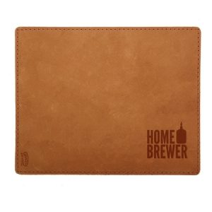 Mouse Pad with Decorative Stitch: Home Brewer
