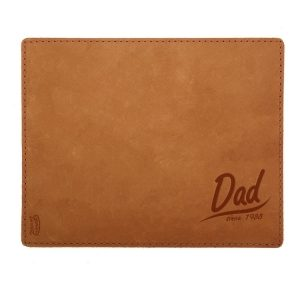 Mouse Pad with Decorative Stitch: Dad Since