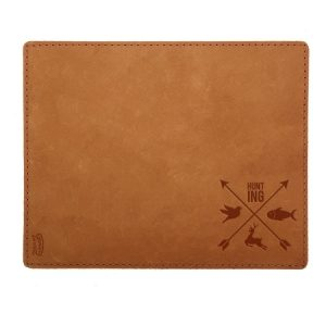 Mouse Pad with Decorative Stitch: Hunting Cross
