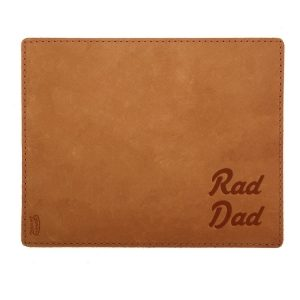 Mouse Pad with Decorative Stitch: Rad Dad