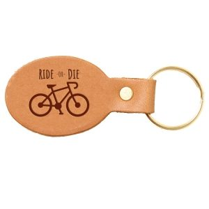 Oval Key Chain: Ride or Die