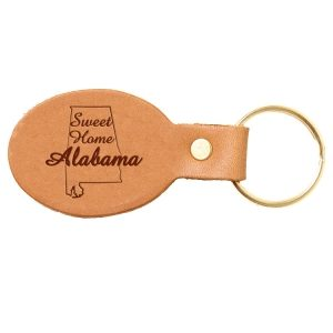Oval Key Chain: Sweet Home AL
