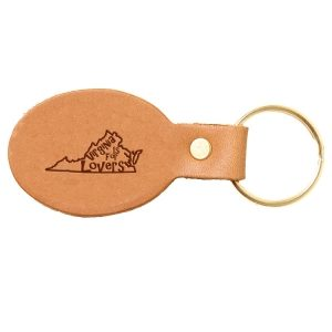 Oval Key Chain: VA is for Lovers