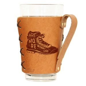 Pint Holder with Handle: Hike More, Worry Less