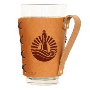 Pint Holder with Handle: Light House