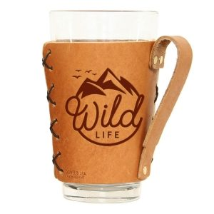 Pint Holder with Handle: Wild Life