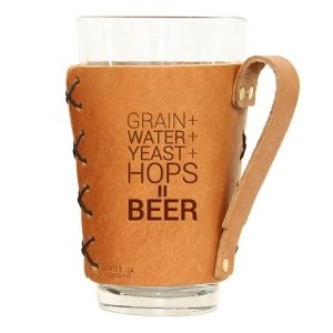 Pint Holder with Handle: Beer Ingredients