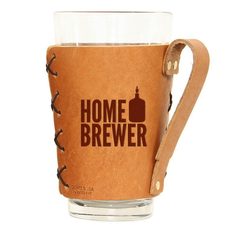 Pint Holder with Handle: Home Brewer