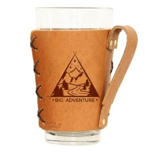 Pint Holder with Handle: Big Adventure