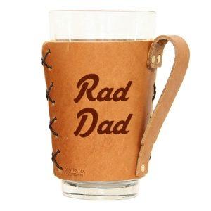 Pint Holder with Handle: Rad Dad