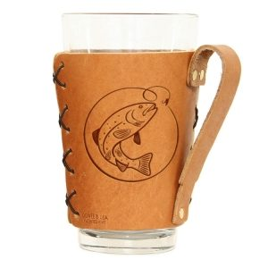 Pint Holder with Handle: Fish Hook