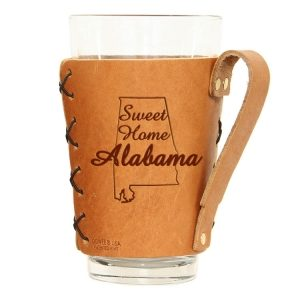 Pint Holder with Handle: Sweet Home AL