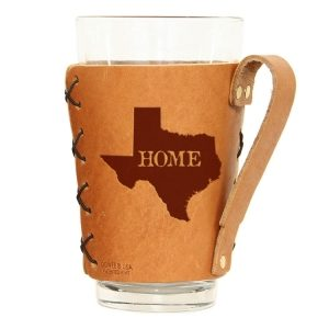 Pint Holder with Handle: TX Home