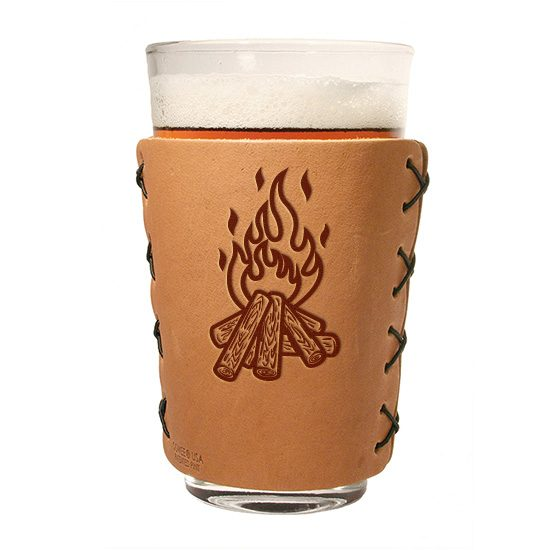 Pint Holder: Camp Fire