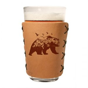 Pint Holder: Mountain Bear