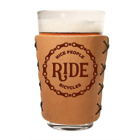 Pint Holder: Nice People Ride Bikes