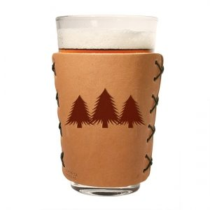Pint Holder: Pine Trees