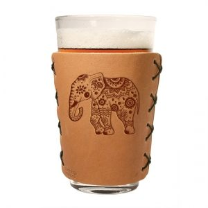 Pint Holder: Elephant Mandala