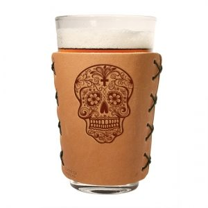 Pint Holder: Candy Skull