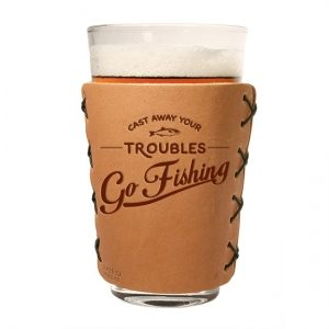 Pint Holder: Go Fishing
