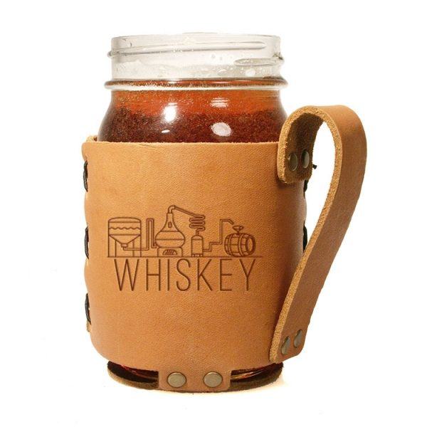 Regular Mason Sleeve: Whiskey
