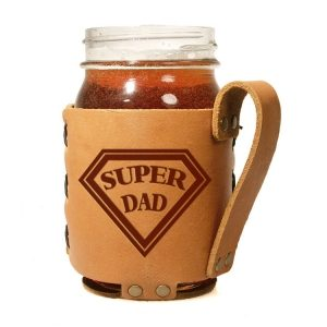 Regular Mason Sleeve: Super Dad