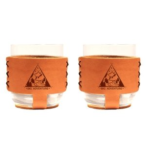 9oz Rocks Sleeve Set of 2 with Glasses: Big Adventure