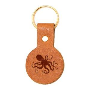 Round Key Chain: Octopus