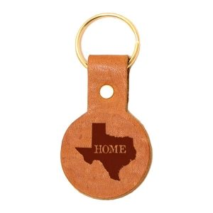 Round Key Chain: TX Home