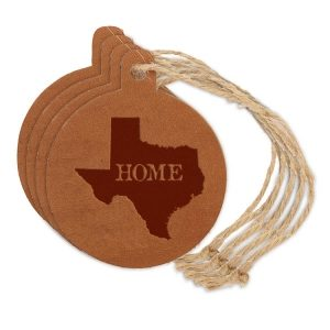 Round Ornament (Set of 4): TX Home
