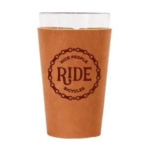 Single Stitch Pint Holder: Nice People Ride Bikes