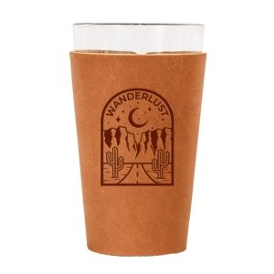 Single Stitch Pint Holder: Wanderlust