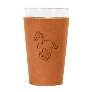 Single Stitch Pint Holder: Horse