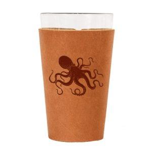 Single Stitch Pint Holder: Octopus