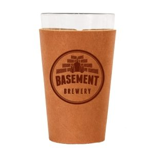 Single Stitch Pint Holder: Basement Brewery