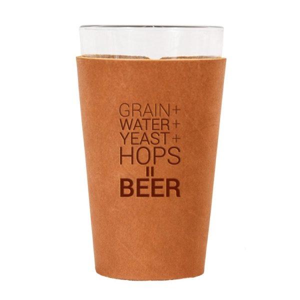 Single Stitch Pint Holder: Beer Ingredients