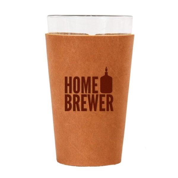 Single Stitch Pint Holder: Home Brewer