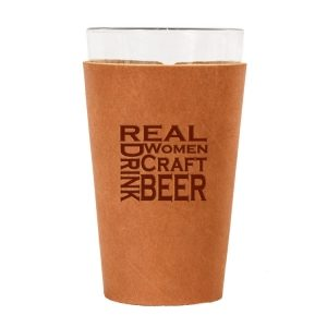 Single Stitch Pint Holder: Real Women...Beer