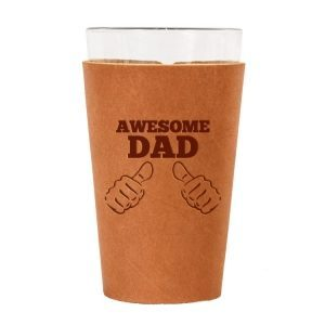 Single Stitch Pint Holder: Awesome Dad
