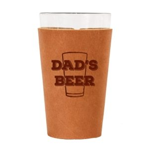 Single Stitch Pint Holder: Dad's Beer