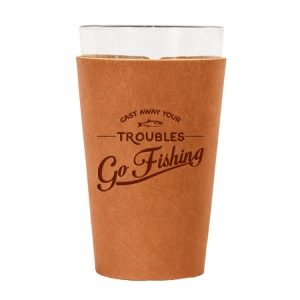 Single Stitch Pint Holder: Go Fishing