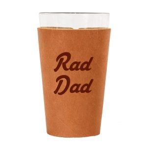 Single Stitch Pint Holder: Rad Dad