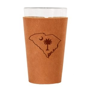 Single Stitch Pint Holder: SC Palmetto