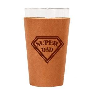 Single Stitch Pint Holder: Super Dad