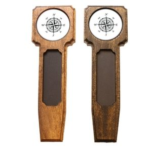 Square Top Homebrew Handle: Compass Rose