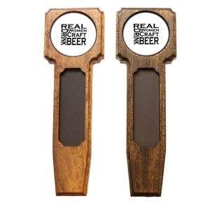 Square Top Homebrew Handle: Real Women...Beer