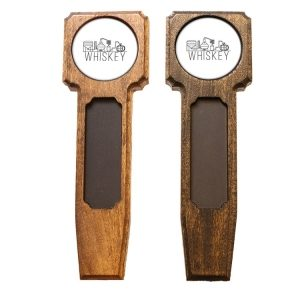 Square Top Homebrew Handle: Whiskey
