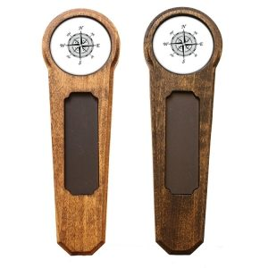 Round Top Homebrew Handle: Compass Rose