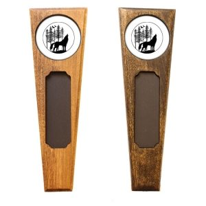 Triangle Top Homebrew Handle: Howling Wolf